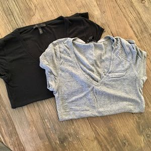 Bundle of (2) BCBG tees